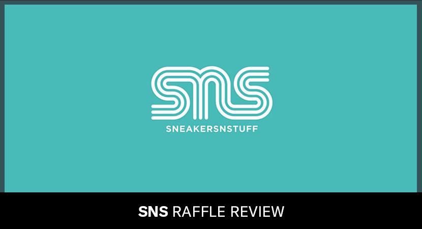 Sneakersnstuff (Online Entry) - Raffle