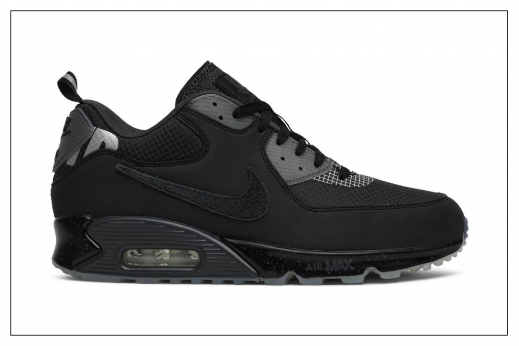 Nike Air Max 90 20 Undefeated Black